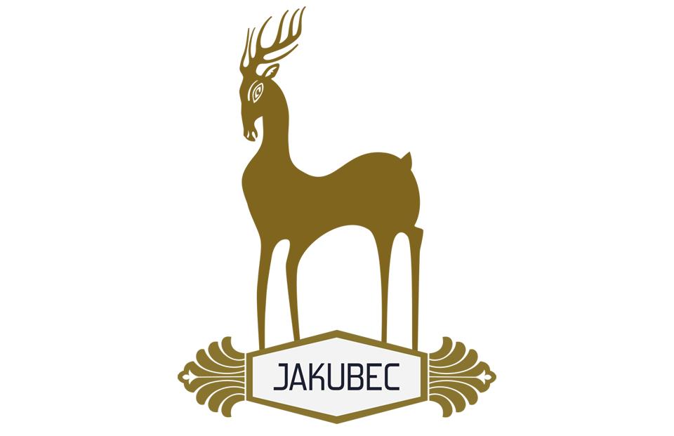 Logo dizajn víno Jakubec