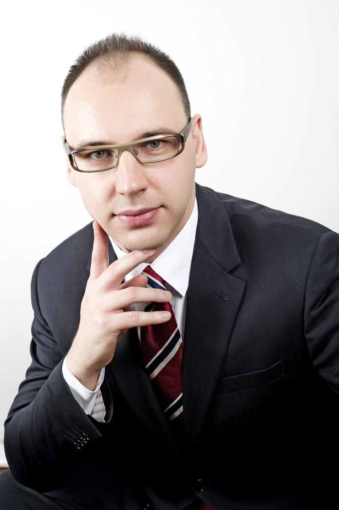 Slovenský grafický dizajnér Pavel Surovy
