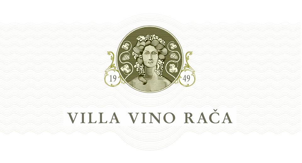 Villa Vino Rača logo dizajn