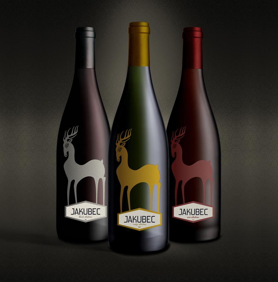 Vino etikety Jakubec